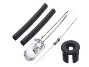 Bilde av 5 stk 5mm dioder XLaserleds